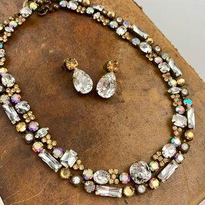 3 piece Sorrelli Crystal Necklaces & Earrings Set